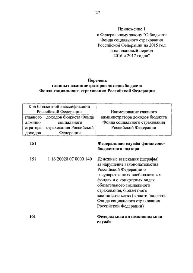 федеральный закон о фонде социального страхования 2015